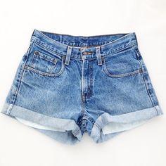 ORIGINAL BLUES High Waisted Shorts levis wrangler gap by modayarte