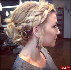 Loose Braided Updo: Everyday Hairstyles for Summer
