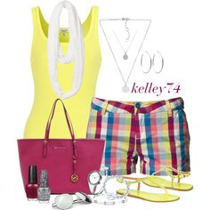 """""""MK Travel Tote"""" by kelley74 on Polyvore"""