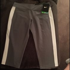 Girls Nike Capri Pants Medium Girls Nike Capri Pants. Size M. DRI-FIT. New with Tags. Always from a smoke and pet free environment. Nike Other