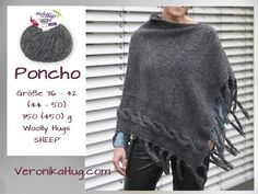 Cable Poncho Knitting Tutorial - Beginner - YouTube