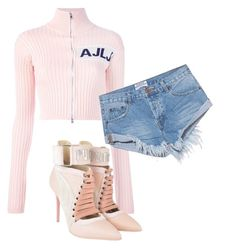 """""""Untitled #11"""" by nelah-boo ❤ liked on Polyvore featuring Au Jour Le Jour, OneTeaspoon and Puma"""