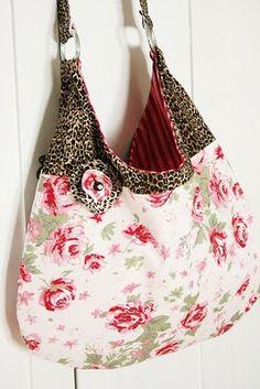 Rose Sling Bag; http://parisbebefabrics.blogspot.com/2011_03_01_archive.html