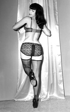 Cutting Edge Pin Up Bettie Page