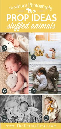 Adorable-Newborn-Photography-Prop-Ideas-using-Stuffed-Animals.jpg 550×1,154 pixels