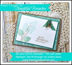 2016  Stampin Up Thoughtful Branches for Tech 101 by Sandi @ www.stampinwithsandi.com   Thoughtful Branches Photopolymer Bundle	144328 Price: $52.00