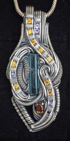 ©Tucker Tipton #wirewrap #jewelry #wirewrapjewelry #oneofakindjewelry