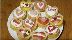 HOW TO MAKE HEART CUPCAKES – VALENTINES DAY