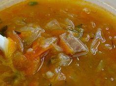 Canning Granny: Ukrainian Cabbage Soup Slovak Recipes, Ukrainian Recipes, Russian Recipes, Ukrainian Food, Eastern European Recipes, European Cuisine, Soup Recipes, Cooking Recipes, Healthy Recipes