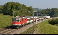 High quality photograph of SBB Re II # 11136 at Jestetten, Germany. Swiss Railways, Electric Locomotive, Reiss, Germany, Train, Motorcycles, Cars, Zug, Deutsch