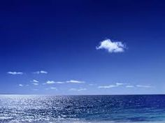 blauwe lucht -