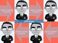 Cool template to introduce your team member!