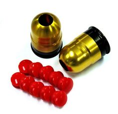 S-Thunder Mini Airsoft BB Paintball Grenade launcher 2-Pack GOLD SWG-624 by S-Thunder Limited. $79.95. S-Thunder Mini Airsoft BB / Paintball Grenade launcher 2-Pack GOLD SWG-624  One of the loudest and most powerful airsoft/paintball launcher shells now in a Mini Version. Perfect for CQB or indoor play. The unit is rechargeable and is compatible with all gases ranging from top gas, green gas to CO2 gas. Fill with Airsoft BBs, paintballs, pepper balls, powder balls or co...