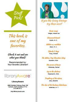 Bookmark, Staff Picks 1