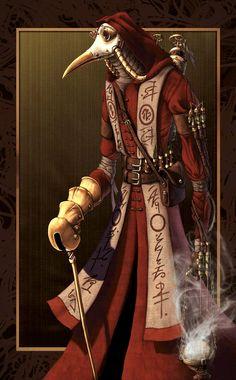 Plague Doctor by Malignanttoast