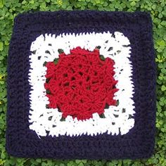 Shell Around Square 12 inches ~ Free Pattern
