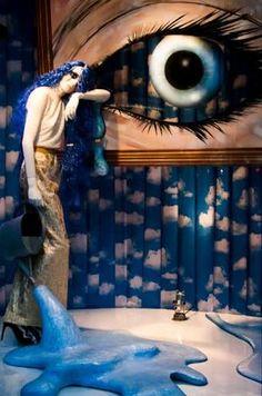 Resultado de imagen para surrealism window display