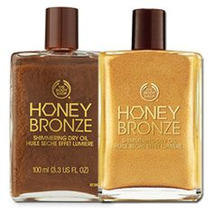 Honey Bronze Shimmering Dry Oil | The Body Shop | The Body Shop