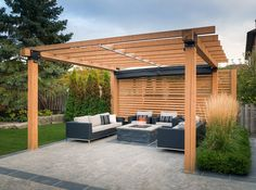 To maximize everyday use of this outdoor space, Pro-Land enlisted the services of ShadeFX to provide a solution for sunny days and rainy afternoons.
