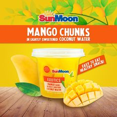 Paint the town #yellow with our #Exotic #Mango chunks in #Coconut #Water fruit cups! Our rich and luscious mango chunks are fat-free and high in Vitamin C, making it a perfect snack to enjoy anywhere. ⟶ http://amzn.com/B00ZWQVZLK