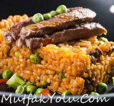 Bifdekli pirinç pilavı