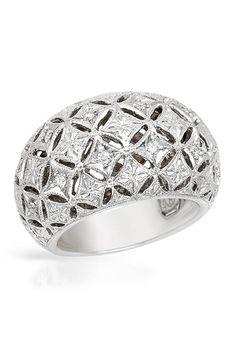 FALCINELLI 0.24 CTW Diamond 18K Gold Ring - Enviius Price $1997