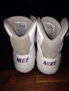 low cost e8d3d a0afb RARE Nike Greco Supreme Wrestling Shoes Womans White Size 9 Great Condition   eBay