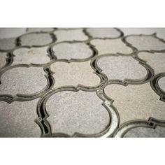 Veranda Niveous Quartz and Mirror Tile