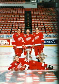The Grind Line Kocur, Draper, Maltby & McCartey... The good ole days!