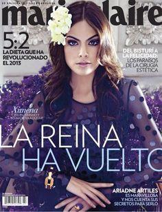 cover , Jimena Navarrete , Marie Claire , Marie Claire Mexico