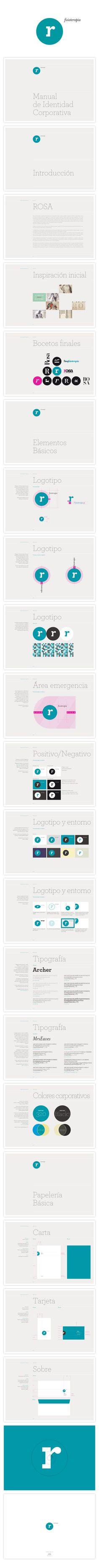 Logo and Corporate guidelines by -olfa- , via Behance