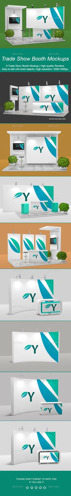 Trade Show Booth Mockup #design Download: http://graphicriver.net/item/trade-show-booth-mockup-/11727039?ref=ksioks
