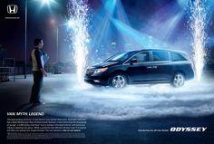 Adeevee - Honda Odyssey: Rock Van, Romance