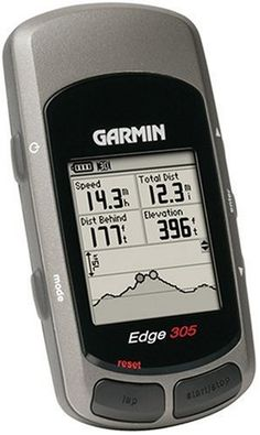 Save $ 10 order now Garmin Edge 305 Waterproof Cycling GPS With Speed/Cadence at