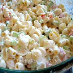 Creamy Southern Pasta Salad...Looks delicious.