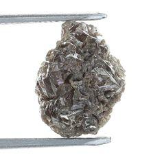 Genuine Diamond Rare Raw Rough Loose Diamond 2.57 Ct Redsih Color