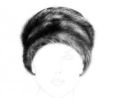 Faux Fur Hat Pattern - Millinery supply company