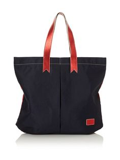 Make this tote with old jeans--Meredith Wendell Women's Canvas Business + Party Mullet Tote at MYHABIT