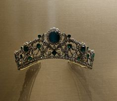Since the discovery in Wartski's vaults the tiara's un-named owner has allowed it to be displayed in the V&A Museum between 1982 - 2002, though it was allowed out to feature in a Wartski's exhibition called 'One Hundred Tiaras: An Evolutuion of Style 1800-1990', in 1997 http://wartski.com/