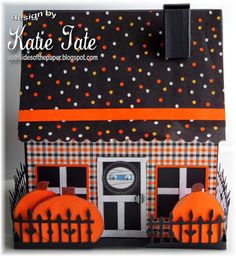 Today is Day 1 of a week of Fall/Halloween tutorials here at Scor-Pal My tutorial is for a cute...