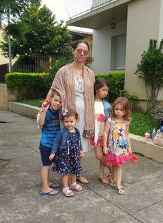 Blog Femina - Modéstia e Elegância: Vestido e echarpe