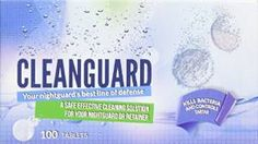 If you are currently wearing a night guard for bruxism, it is important that you take care of it correctly. Buy night guard clean at just $7.99 from Amazon.