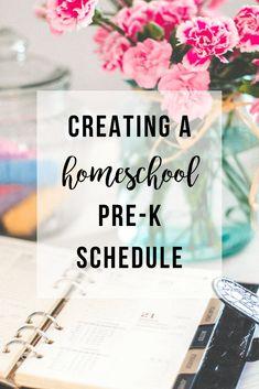 Creating a Homeschool Pre-K Schedule   The Vegas Mom