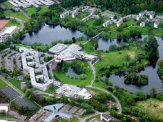 Campus of Stirling University, my second choice school.