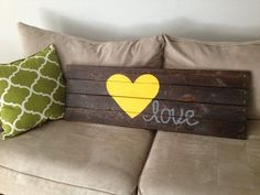 handpainted wood pallet sign on Etsy, $50.00