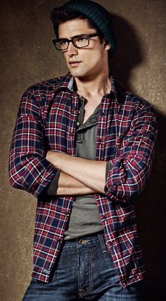 So casual but so fashionable on http://brvndon.com ...Sean O'Pry is so cute