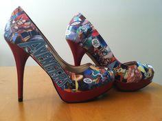 AVENGERS high heels!