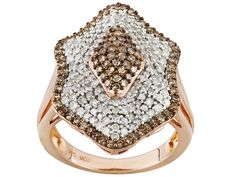 Champagne and White Diamond Ring - Our latest love!