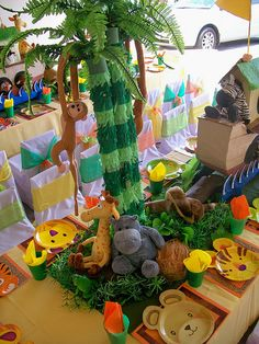 """""""The animals walked in two by two....."""" by Treasures and Tiaras Kids Parties, via Flickr"""