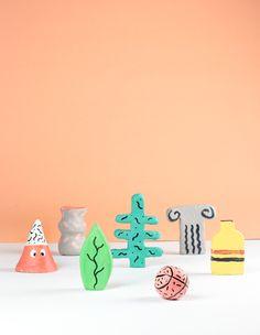 Tiny objects by Alberto Rodríguez, via Behance